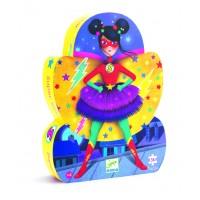 Puzzle silhouette : Super star 36 pièces