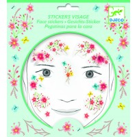 "Stickers visage "" Fée du printemps"""