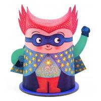 Mini veilleuse papier-Mister Super