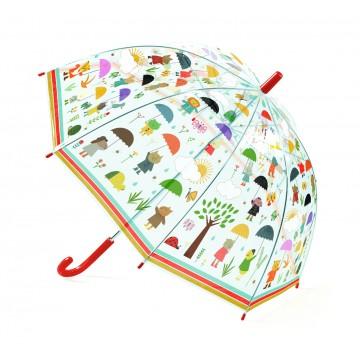 Parapluie - sous la pluie