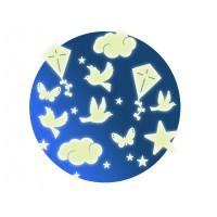 Stickers muraux phosphorescents : Dans le ciel