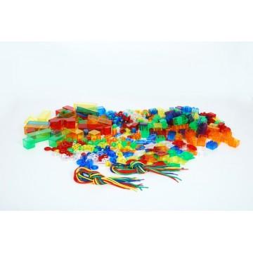 Grand kit de travail translucide - couleurs