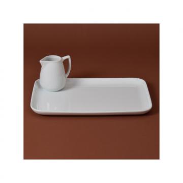 Grand plateau en porcelaine : 30*22 cm