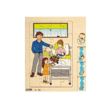"""Puzzle """"Maman et Bébé"""""""