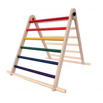 Triangle Pikler - Tri-Climb arc en ciel