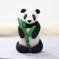 Kit de feutrage : Panda géant
