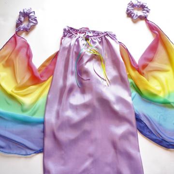 Costume de fée en soie