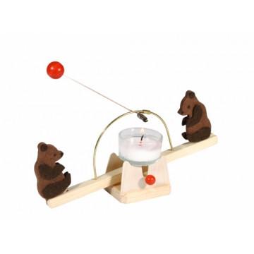 Balançoire à lumière avec oursons