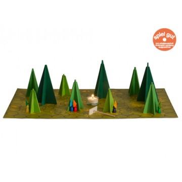 Jeu coopératif : Ombres en forêt - simple