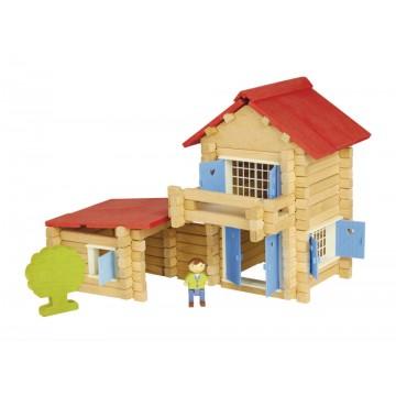 Maison en bois : 140 pièces