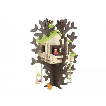 Cabane dans les arbres - 90 pièces
