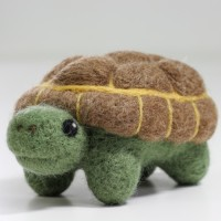 Kit de feutrage : tortue