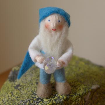 Gnome au cristal