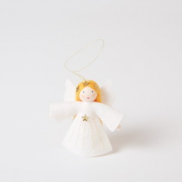 Petit ange blond à suspendre