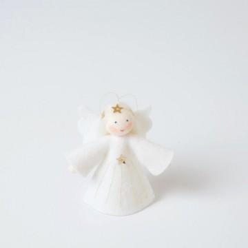 Petit ange aux cheveux blancs à suspendre