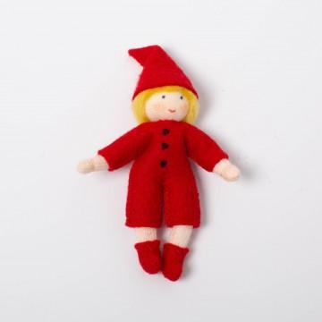 Elfe avec costume à boutons