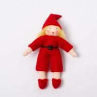 Elfe avec costume à ceinture