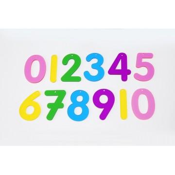 12 chiffres translucides