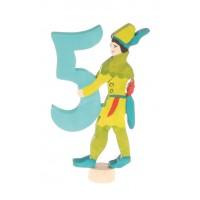 """Personnage féérique """"5"""" - Robin des bois"""