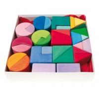 Set de construction : triangle, carré, cercle