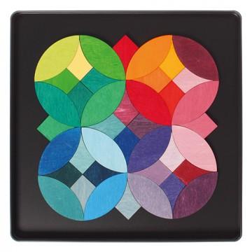 """Puzzle magnétique """"Cercles"""""""