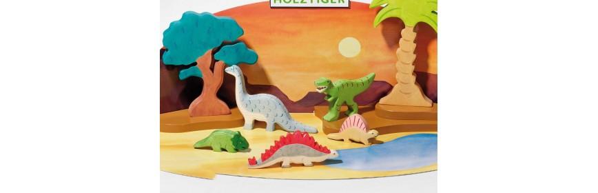 Dinosaures Holztiger