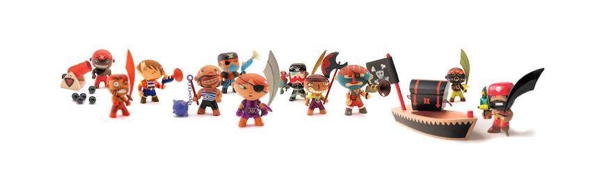 Figurines Arty toys et Tinyly